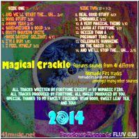 Magical Crackle back cover