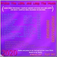 Praise The Lord And Loop The Music back cover